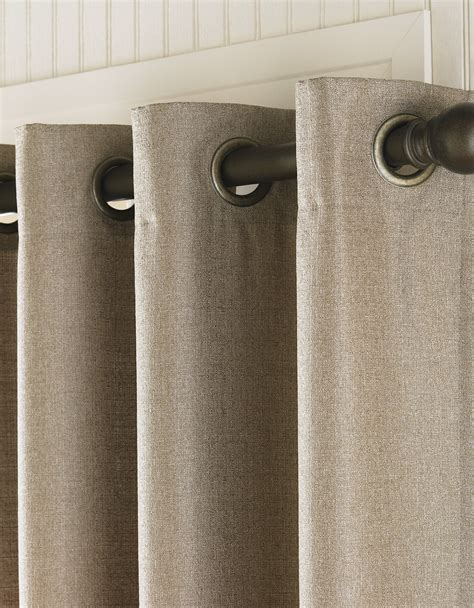 grommet curtain rods curtain rods for grommet drapes home design ideas
