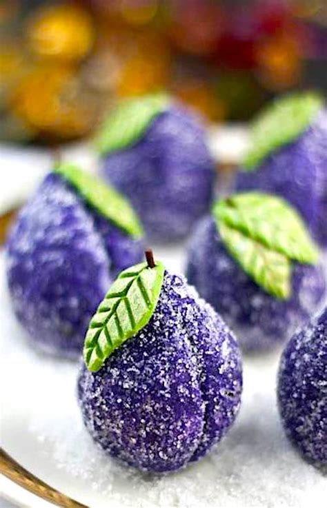 modern   christmas sugar plums  food dictator