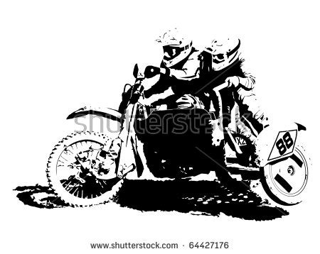 Motocross Motorrad Comic by Motorcycle Team Clipart Clipground