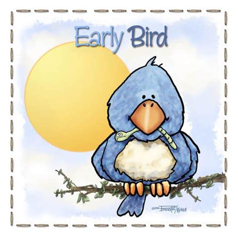 adorable early bird acta