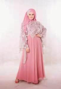 Model baju pesta muslimah dari bahan sifon model baju pesta terbaru
