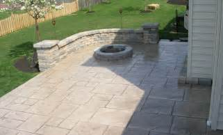 Cement Patio Pavers Custom Concrete Plus Embossed Concrete Patio Concrete Paver Walls