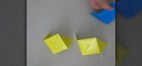 Origami Cube 6 Pieces - how to origami a cube with six pieces 171 origami wonderhowto