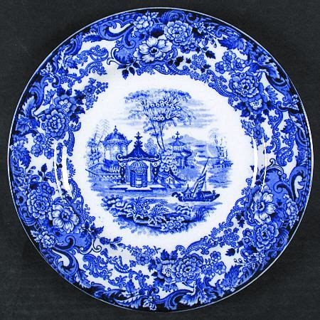 blue pattern on china wedgwood chinese flow blue at replacements ltd