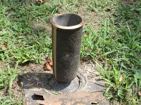 Plastic Cemetery Vases Quot Not One More Quot Graveside Bronze Vases Stolen