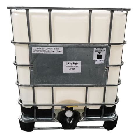 ibc tote  gallons  reconditioned san diego drums