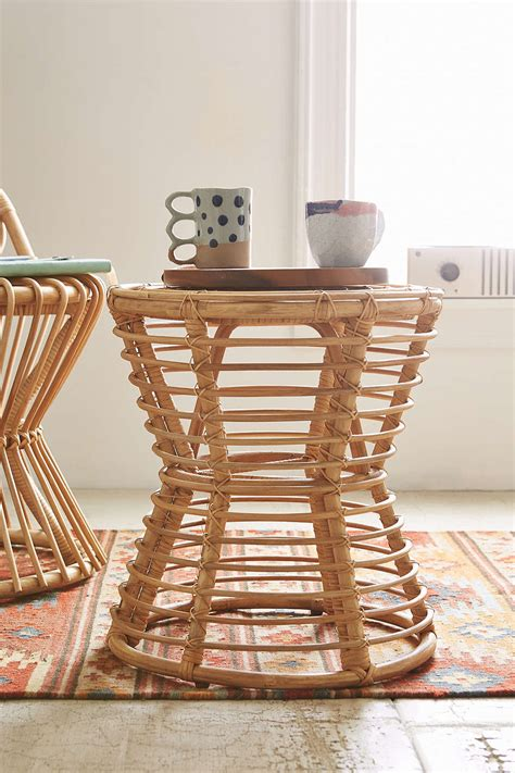 rattan side tables living room best furniture for a shabby chic living room