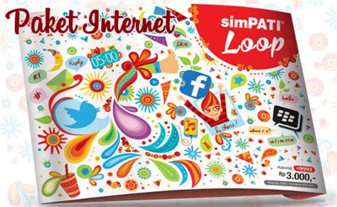 Kartu Perdana Telkomsel Simpati 4g Bisa Paket Murah 30gb65rb cara daftar paket kartu simpati loop terbaru