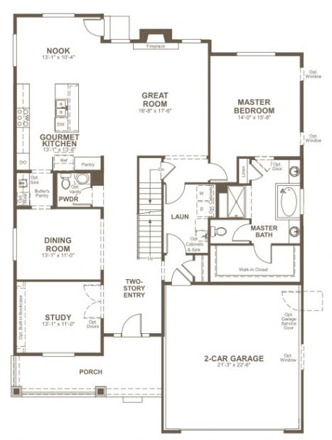 American Home Floor Plans by Elegant Richmond American Homes Floor Plans New Home