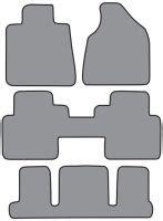 2008 Gmc Acadia Floor Mats by 2007 2010 Gmc Acadia Floor Mats 2 Fronts 2 Rear