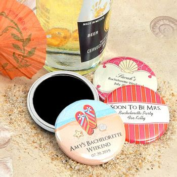 wedding favors at nice prices personalized wedding magnets 2 25 quot beach designs