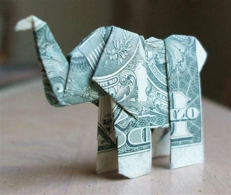 Origami Elephant Dollar Bill - pin origami elephant facile dollar bill on