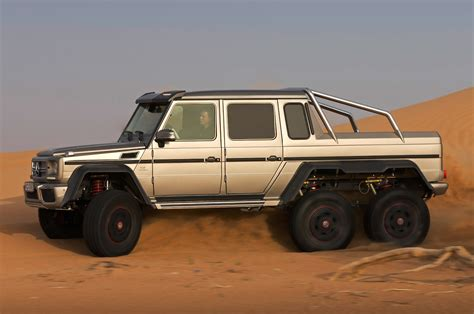 mercedes 6x6 mercedes benz g63 amg 6x6 to cost 600 000 in germany