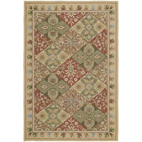 home depot outdoor rugs kaleen home and porch desoto linen 9 ft x 12 ft indoor