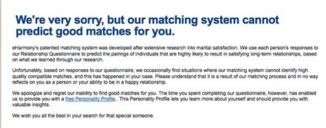 Rejected By Eharmony by Match Or Eharmony General Insanity Day One Patch Boards