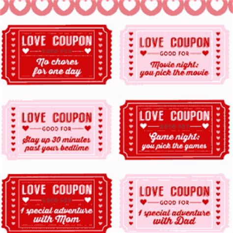 free printable love coupons for couples valentine s day printables for your party catch my party