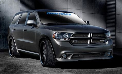 win  custom dodge durango toyo tires  bringing  sema