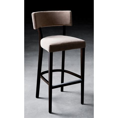 bar stool upholstery miami dark wood upholstered barstool 401 from ultimate