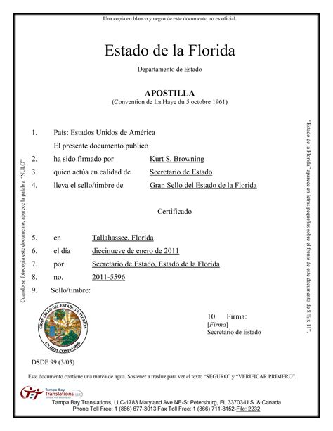 mexican birth certificate translation template best