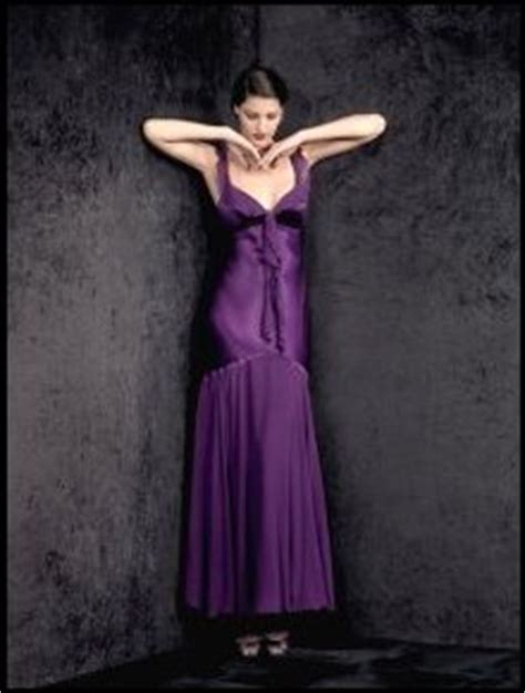 Purple Craze Fall 2007 Trend by Fashion Trends In Purple Dresses Autumn 2007
