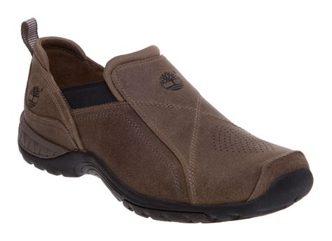 Rugged Slip On Shoes Timberland Rugged Slip On Shoes In Brown For Men Lyst