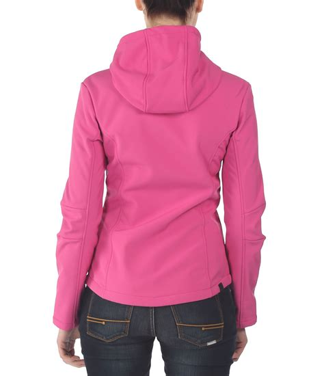 pink bench jacket bench theo c hooded jacket in pink lyst