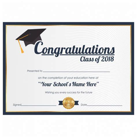 congratulations certificate congratulations class of certificate
