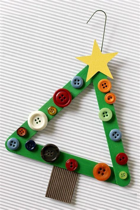 arbol navidad adornos manualidades y adornos de navidad hechos con palos de helado