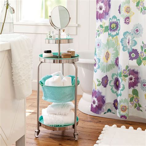 how to organize your bathroom vanity organize a bathroom with a portable vanity chatelaine com
