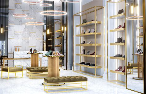 interior design store uk luxury shoe store design retail interior design
