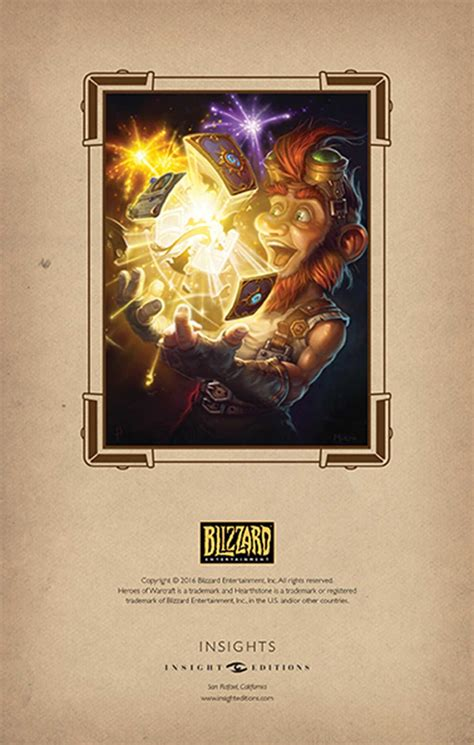 hearthstone hardcover ruled journal book by blizzard entertainment official publisher page