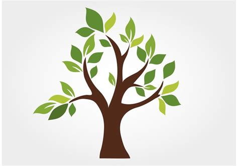 tree images free stylized vector tree free vector stock