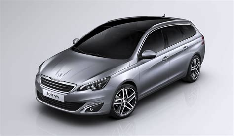 peugeot compact car peugeot 308 sw compact wagon revealed photos