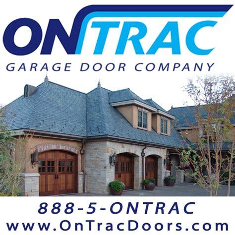 on trac garage door company garage door services