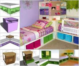 Toddler Bed With Storage Diy 15 Diy Bed Designs That Will Turn Bedtime Into Time