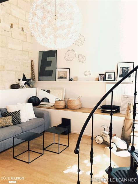 Chalet Style salon style scandinave industriel aurore le l 233 annec