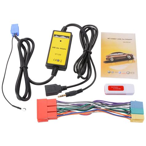 Ac Aux 3 Pk car usb aux adapter 3 5mm audio mp3 player radio interface for audi a6 a8 ac471 ebay