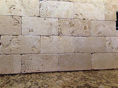 tumbled marble backsplash sanded or unsanded grout ceramic