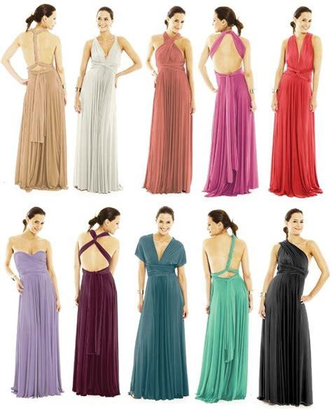 Infinity Wrap Dress Maxi Convertible Multi Way Dress Alldaychic