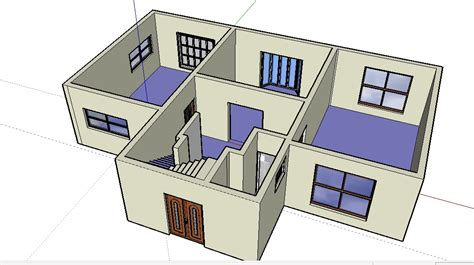 google sketchup for floor plans google sketchup home floor plan sketchup home plans ideas