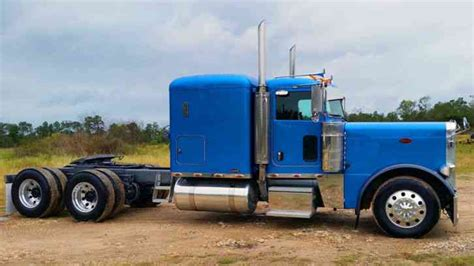 peterbilt 379 exhd 2007 sleeper semi trucks