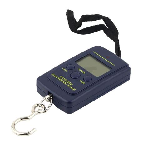 portable 40kg 10g electronic scale hanging fishing luggage