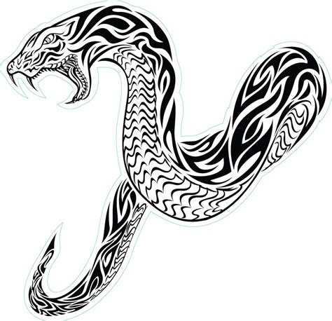 snake tribal tattoo designs snake tattoos designs ideas and meaning tattoos for you