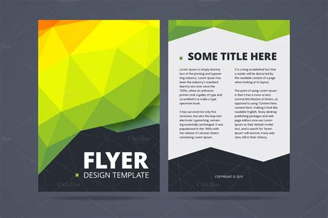sided flyer template two sided flyer design template flyer templates on
