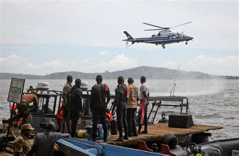 boat cruise capsized on lake victoria 29 drown in capsized boat in uganda toll expected to rise