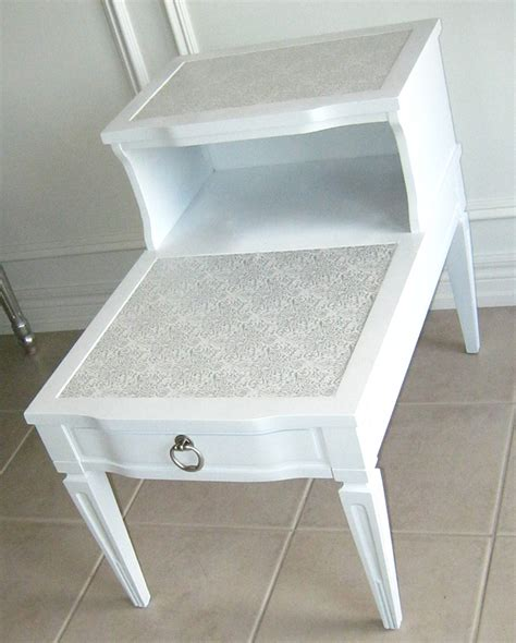 2 tier end table take two before and after two tier end table am dolce vita