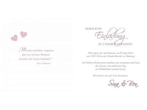 Einladung Hochzeit Herz by Hochzeitskarte Hochzeitseinladung Einladung Hochzeit