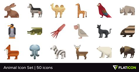 Free Home Design App animal icon set 50 premium icons svg eps psd png files