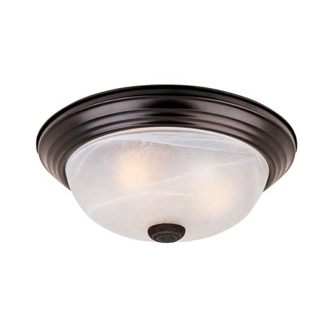 rubbed bronze ceiling light shop designer s lunar 11 25 in w rubbed