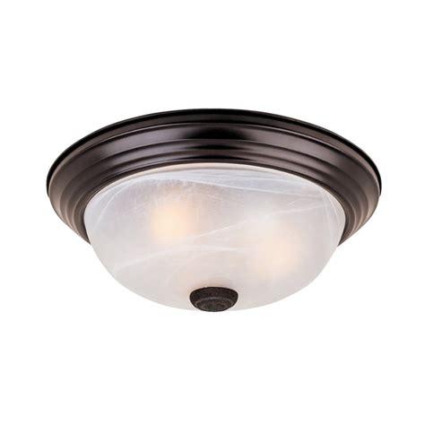 Designer Flush Ceiling Lights Shop Designer S Fountain Lunar 11 25 In W Oil Rubbed